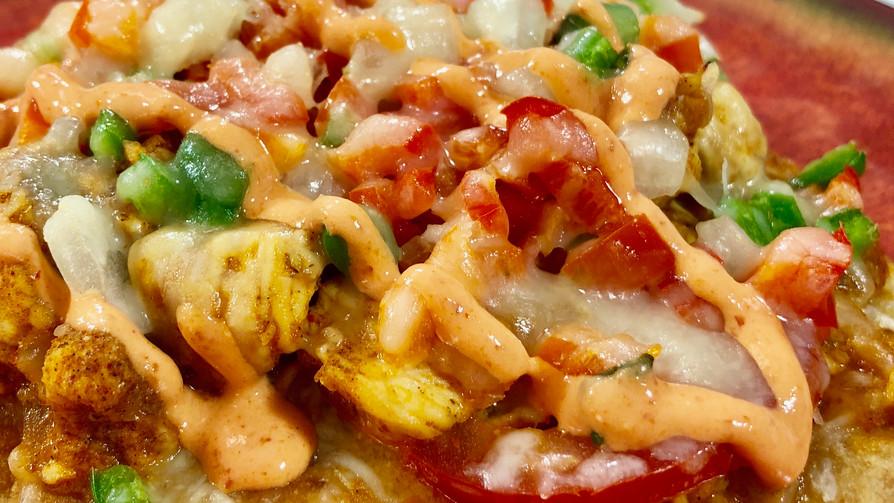 Mesquite Chicken Flatbread (Low Sodium)