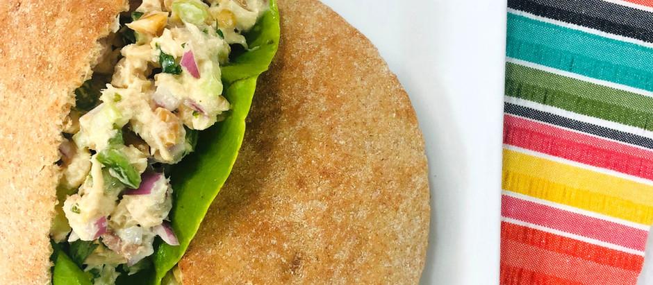 Thai Peanut Tuna Salad (Low Sodium)