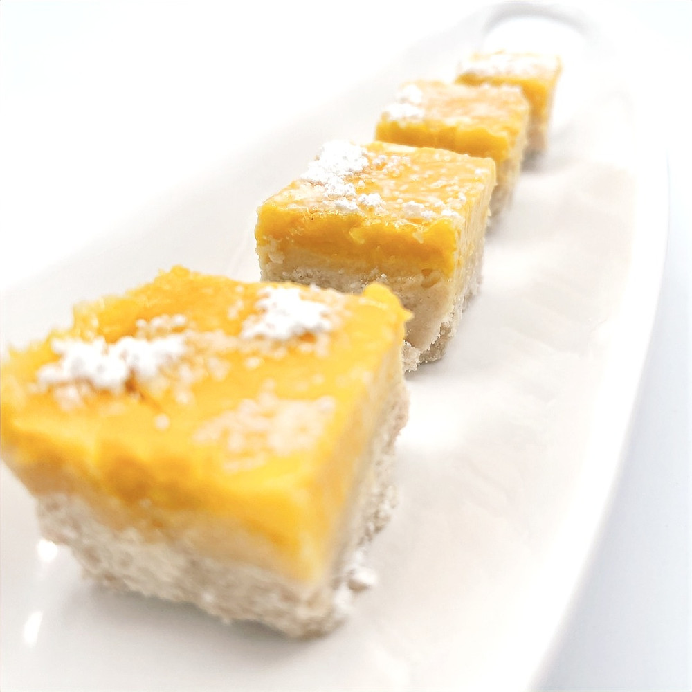 Lemon Bars (Gluten Free) by prettyhealthyplate.com