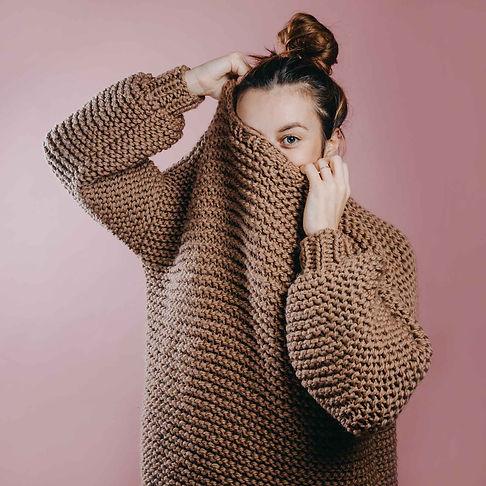 ručně pletený svetr Sugar La lute