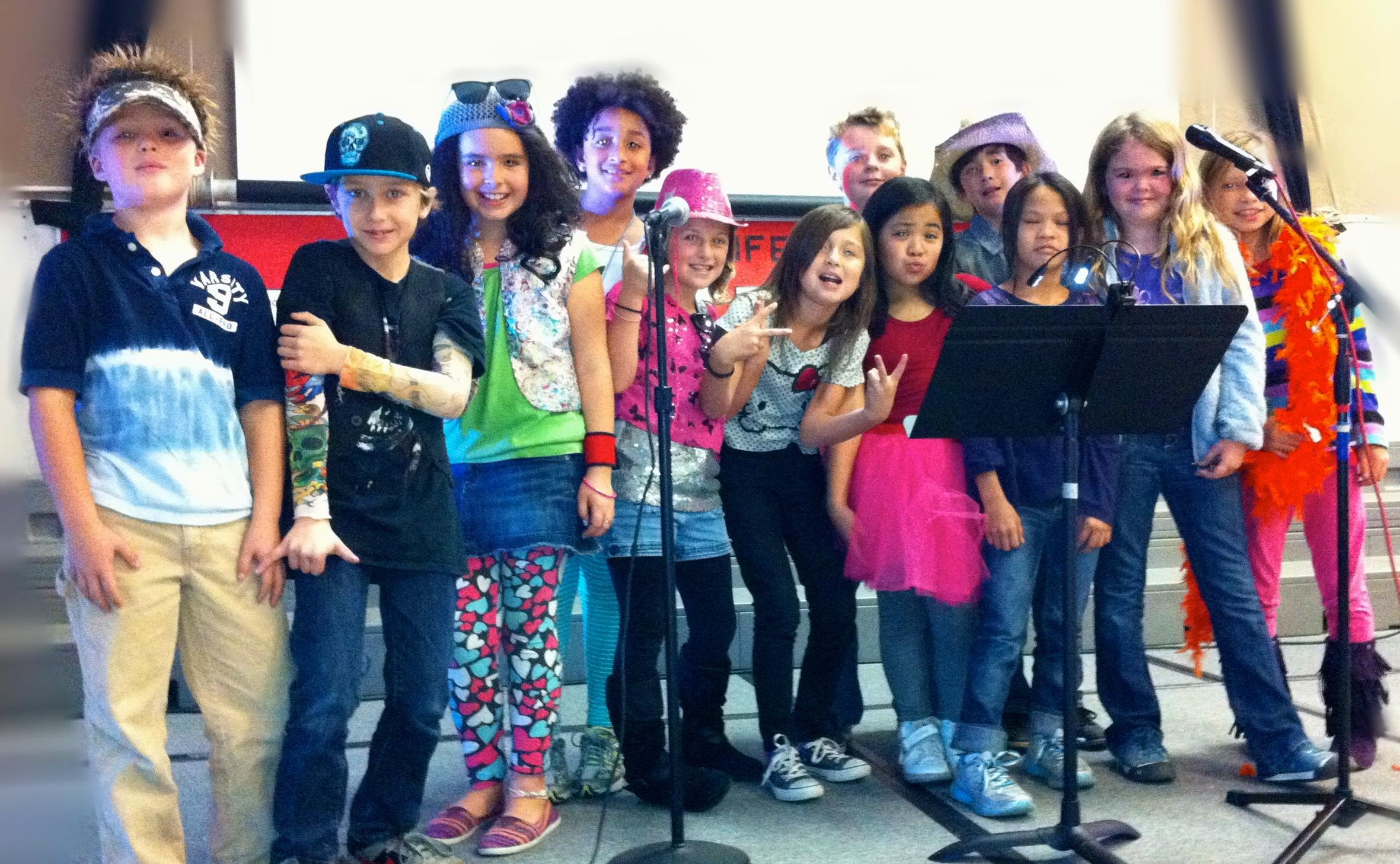 Otis Kids ready to rock!
