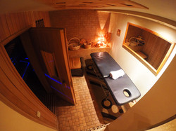 Sauna with Massage Corner