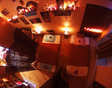 Thai Massage Mattresses on the Floor