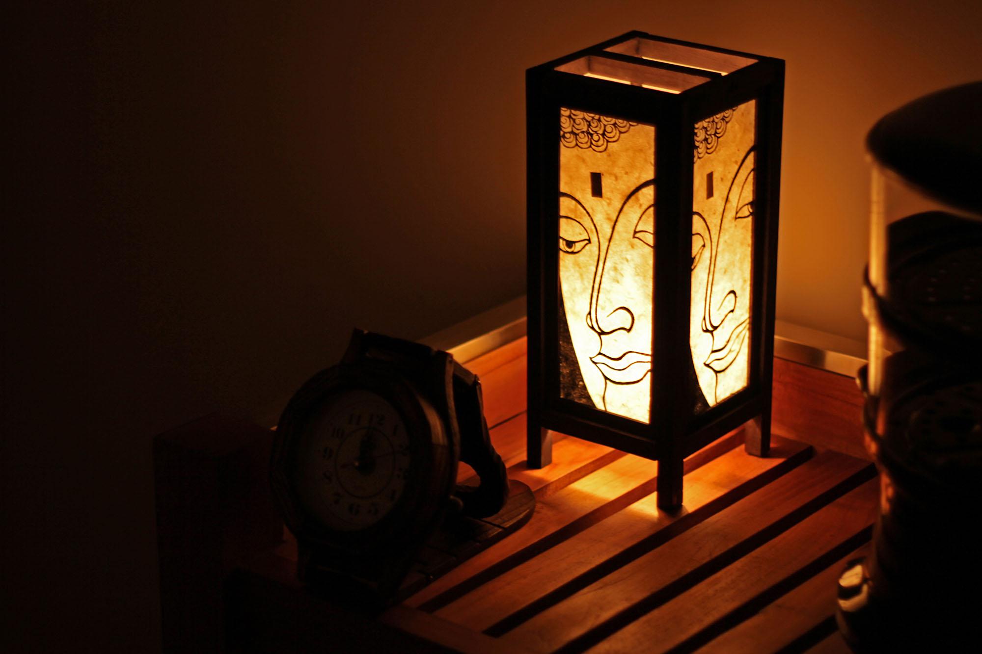 Лампа  Будды