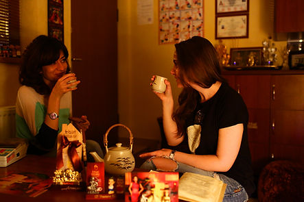 Thai Green Tea After Thai Massage