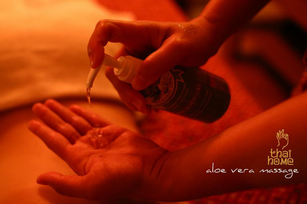 Aloe Vera Massage