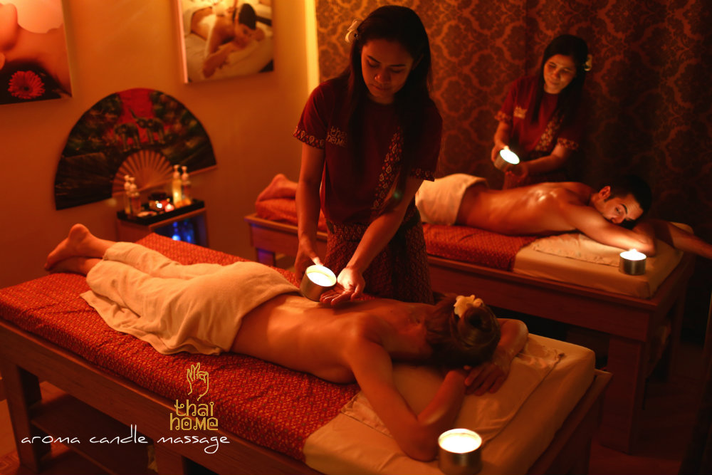 Aromele Candle Massage