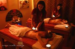 Aroma Candle Massage