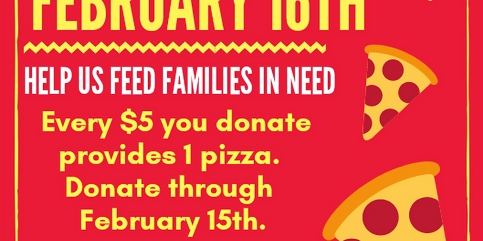 More Than a Meal Pizza February 16, 2019