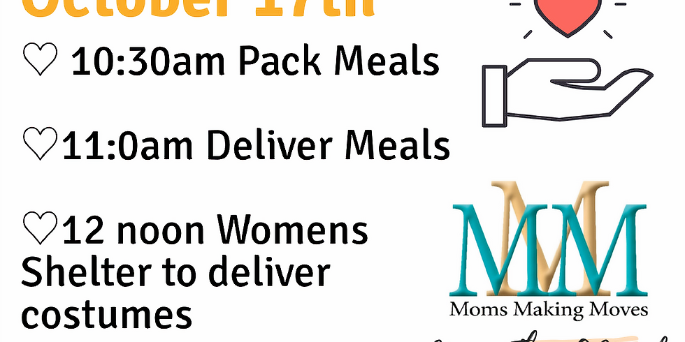 """October Meal """"Prep"""" + Passout (Subs)"""