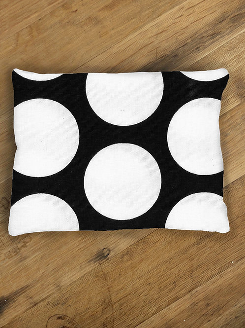 B&W Large Polka Dot