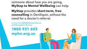 SHORT TERM, FREE COUNSELLING IN DENI
