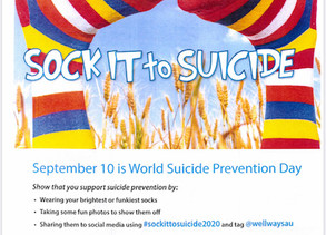 Sock it to Suicide 2020