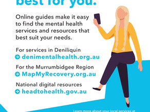 MENTAL HEALTH AT YOUR FINGERTIPS