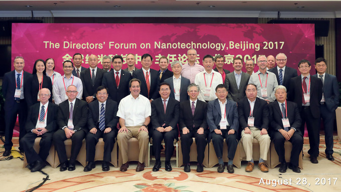Busnaina at the Director's Forum on Nanotechnology in Beijing.