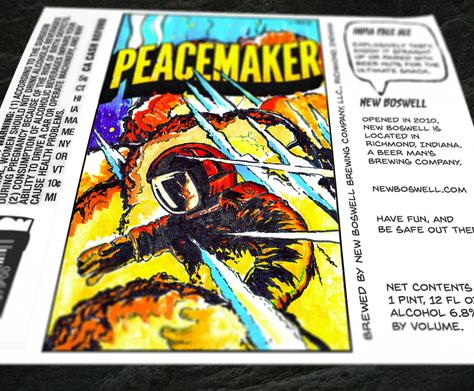 Peacemaker IPA Label