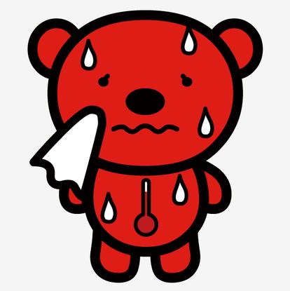 熊谷のクマのあっちー