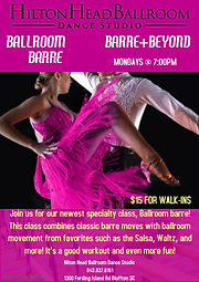Copy of Barre Burn Fitness Class - Made
