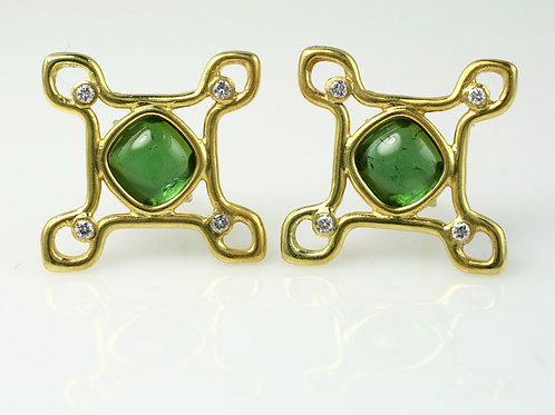 PAIR OF MOROCCO HALO EARRINGS