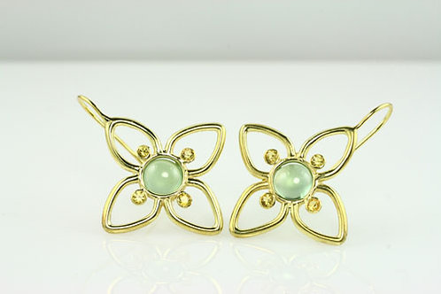 PAIR OF PORTUGAL HALO MINI EARRINGS