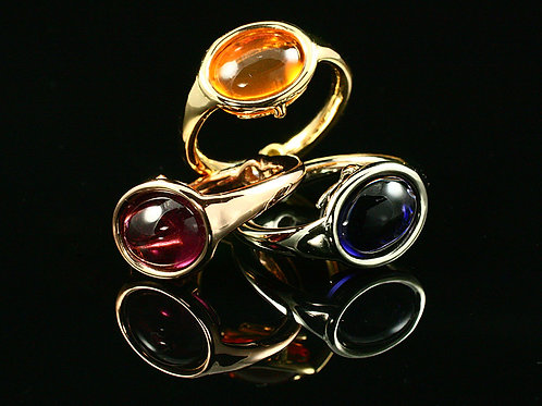 OVAL HALO RINGS