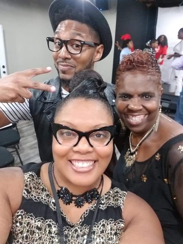 Andraye Speed, Sharon Moore, Lady J