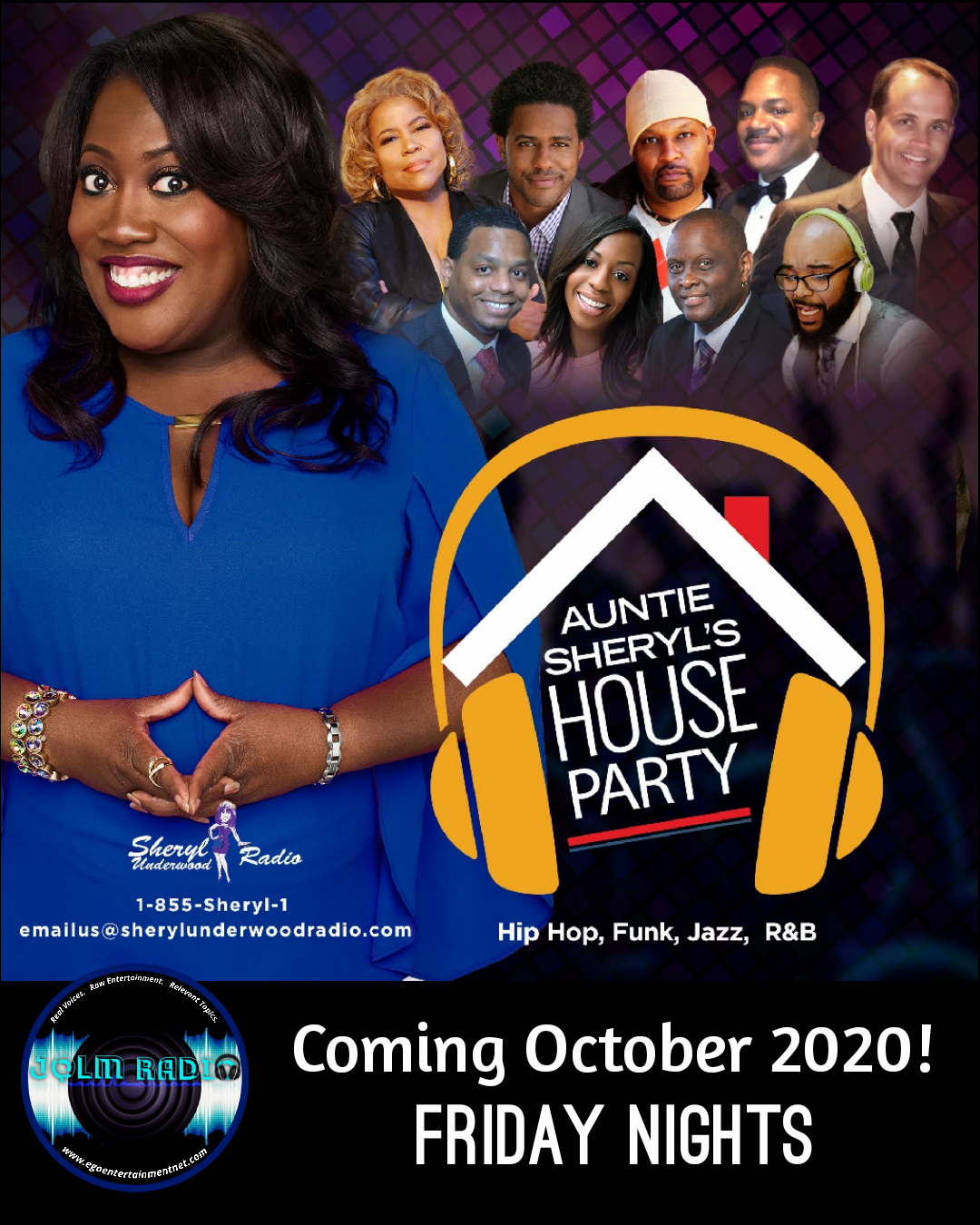 AUNTIE SHERYL'S HOUSE PARTY