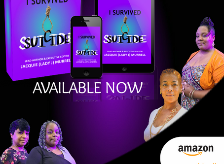 I SURVIVED SUICIDE BOOK LAUNCH