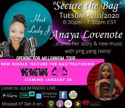 Anaya Lovenote Interview