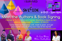 I SURVIVED SUICIDE meet the authors