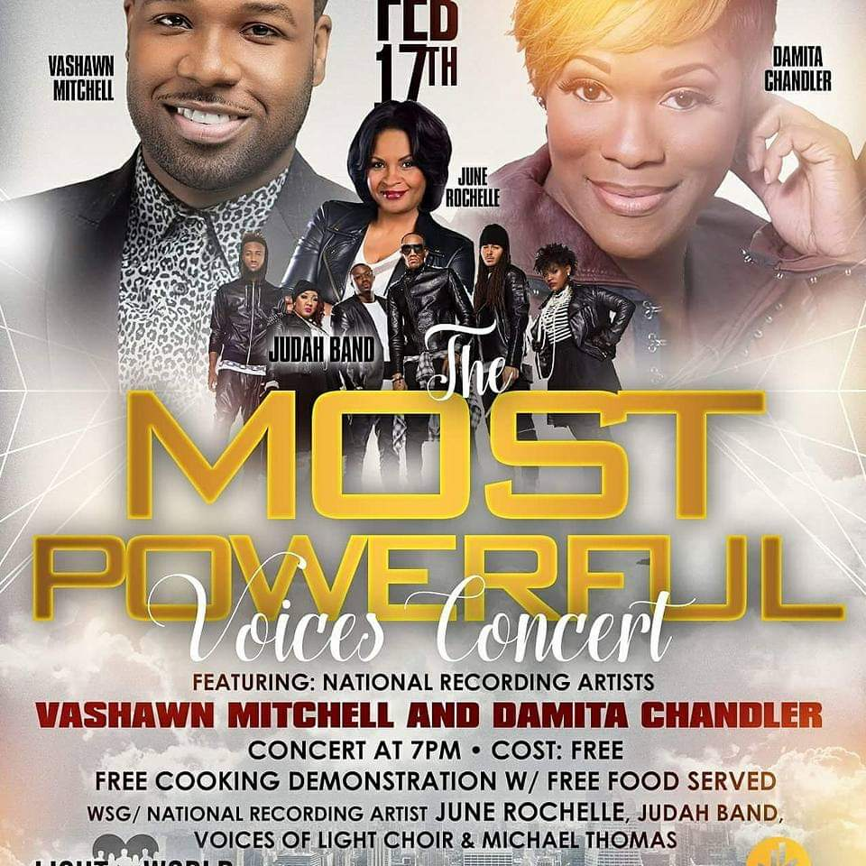 Most Powerful Voices Concert