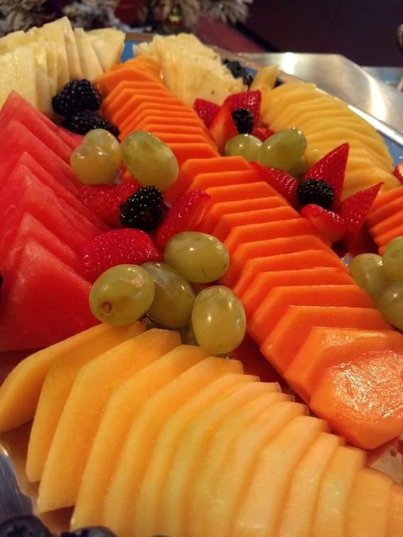 Fruta para buffet