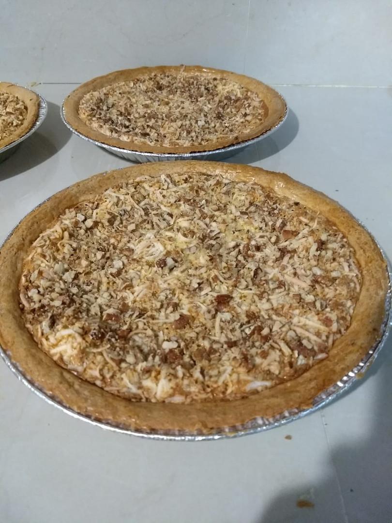 Tarta de Manzana con Granola