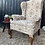 Thumbnail: Good Quality Vintage Wing Back Armchair For Reupholstery