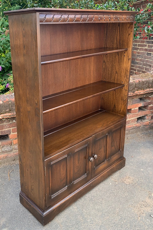 Ercol Old Colonial Bookcase