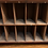 Thumbnail: Small Sweet Victorian Mahogany Estate Cupboard With Fitted Pigeon Hole Interior