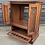 Thumbnail: Old Charm TV Cabinet With Folding Doors & Leaded Drop Down Door