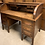 Thumbnail: Fantastic Early 20th Century Large Oak Tambour Roll Top Desk