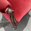 Thumbnail: Beautiful Victorian Mahogany Frame Spoon Back Armchair In Red Velvet Upholstery