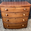 Thumbnail: Victorian Bow Fronted Mahogany Veneer Chest Of Drawers