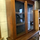 Thumbnail: Late Victorian Walnut Bookcase Display Cabinet