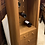 Thumbnail: Contemporary Light Oak Wine Cabinet / Wine Rack With Drawers
