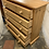 Thumbnail: Narrow Modern Waxed Pine Chest Of Drawers