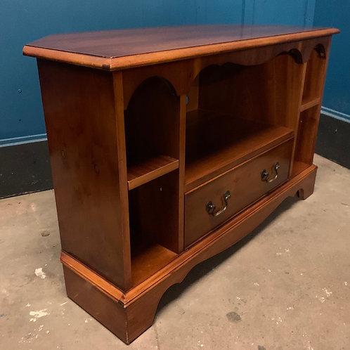 Bradley Furniture Yew Wood & Veneer TV Stand
