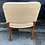 Thumbnail: Good Quality Set Of 6 1930's Oak Frame & Upholstered Deco Style Dining Chairs