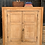 Thumbnail: Large Square Fronted Rustic Victorian Pine Hanging Corner Cabinet / Cupboard