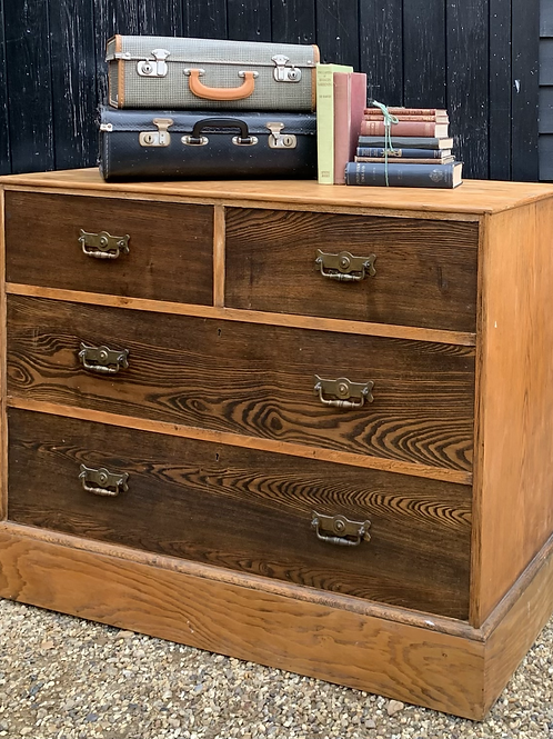 Good Size Edwardian Chest Of Drawers