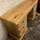 Thumbnail: Modern Waxed Pine Knee-hole Desk / Dressing Table