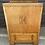 Thumbnail: Sweet Vintage Art Deco Style Oak & Veneer Tallboy Cupboard