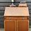 Thumbnail: Redman & Hales Slope Front Writing Bureau Desk With Cupboard